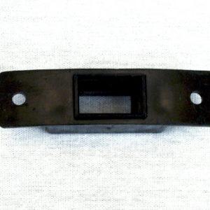 Montageplaatje en Stekkerontvanger voor Elektr. Aansluiting FQ naar slang
